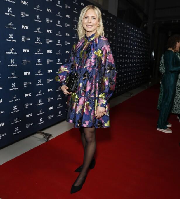 ÅRETS FORBILDE: Hopperen Maren Lundby stakk av med prisen for Årets forbilde. Foto: Andreas Fadum