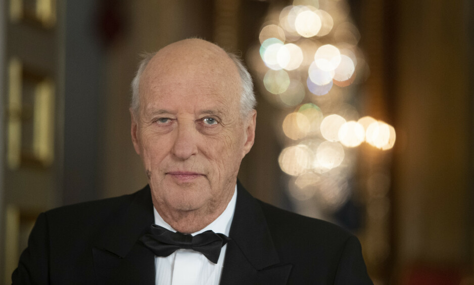 PÅ RIKSHOSPITALET: Kong Harald har vært innlagt på sykehuset siden onsdag. Foto: Terje Bendiksby / NTB scanpix