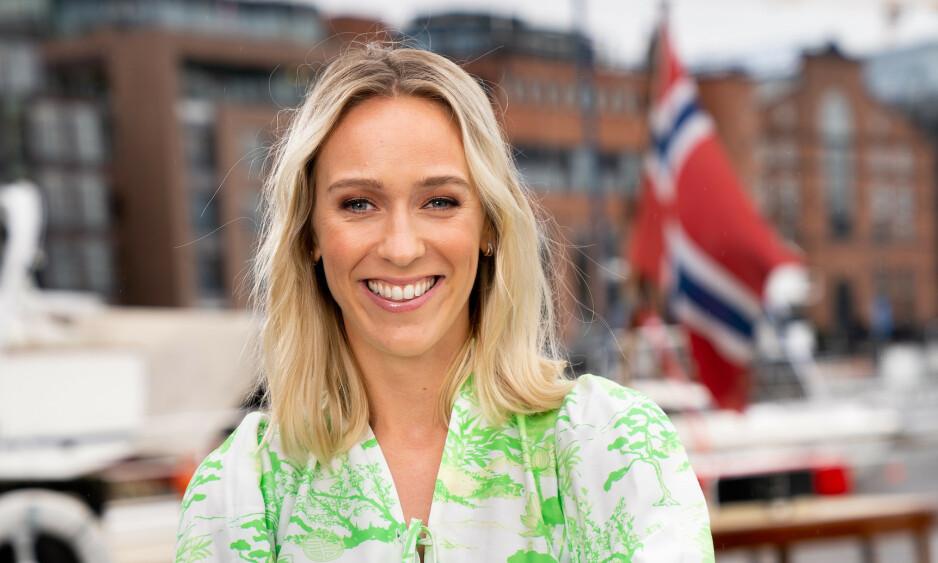 KJENT PROGRAMLEDER: Katarina Flatland er et kjent TV-fjes, og har mange baller i luften. Nå røper 30-åringen i et intervju med «God morgen Norge» at hun skal trappe ned den kommende tiden. Foto: TV 2