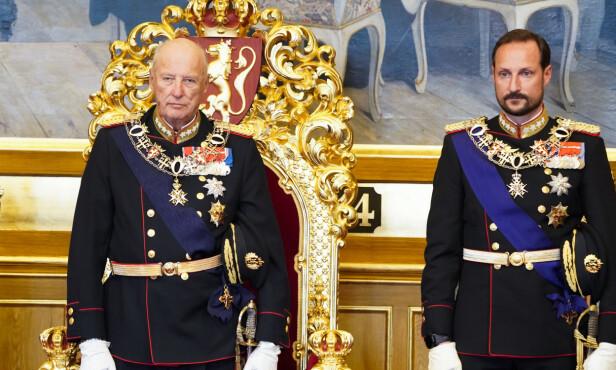 STEPPER INN: Kronprins Haakon stepper inn som regent mens kong Harald er sykmeldt Foto: NTB Scanpix