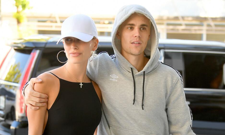 VIL HA BARN: Justin Bieber har flere ganger vært åpen om at han ønsker å stifte familie med kona Hailey Bieber. Foto: NTB Scanpix
