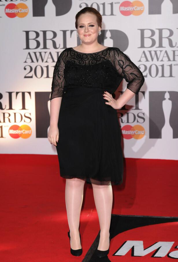 FORANDRET: Artisten har forandret seg drastisk det siste tiåret. Her på Brit Awards i 2011. Foto: NTB Scanpix