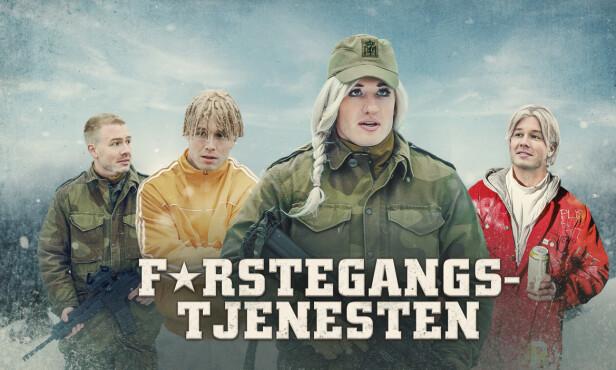 <strong>REKORD:</strong> Med 375.000 seere på den første episoden satte Herman Flesvig en ny rekord for NRK. Foto: NRK.