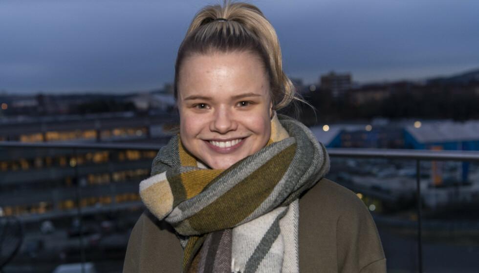 BARNESTJERNE: Lisa har hatt enorm suksess helt siden hun slo gjennom som barnestjerne. Lørdag skal hun gi alt i MGP. Foto: Lars Eivind Bones / Dagbladet