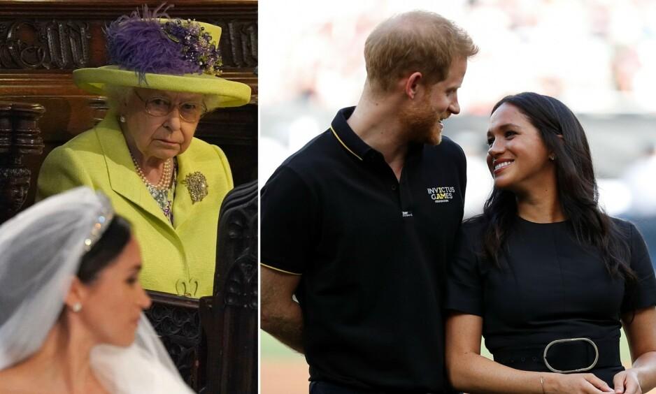 <strong>KRISEMØTE:</strong> Mandag skal den britiske kongefamilien ifølge Sky News møtes for å diskutere prins Harry og hertuginne Meghans framtidige rolle som medlemmer av den britiske kongefamilien. Foto: NTB Scanpix