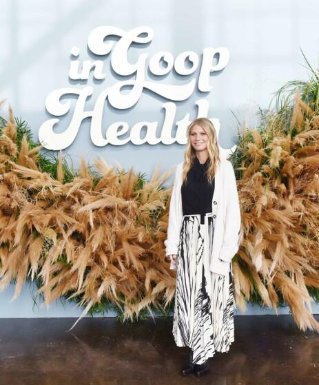 GOOP: Gwyneth Paltrow har bygget en merkevare rundt livsstilsbloggen, men ikke alt hun deler faller i like god jord. Foto: NTB Scanpix