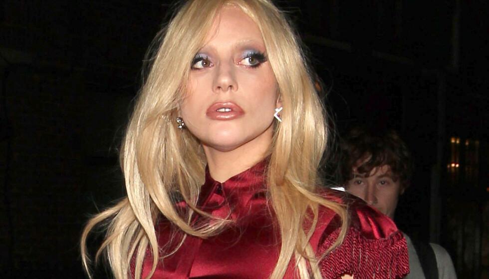 ÅPEN: Superstjernen Lady Gaga var nylig gjest under Oprah Winfrey (65) og WW`s «2020 Vision: Your Life in Focus Tour», hvor hun fortalte om helseutfordringene sine. Her er hun avbildet ved en annen anledning. Foto: NTB Scanpix