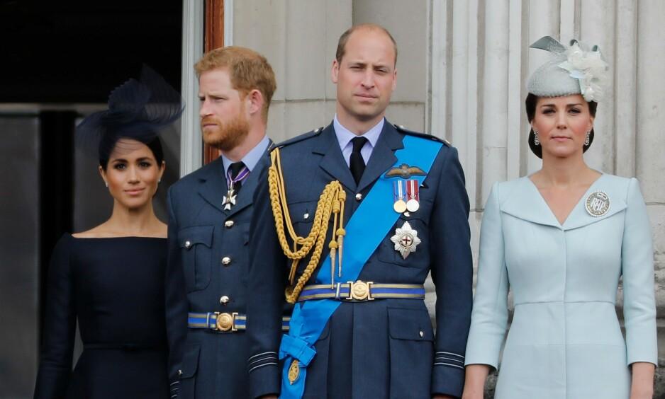AVVISER FEIDE: Prins Harry og prins William går ut mot nyhetssak. Foto: NTB Scanpix