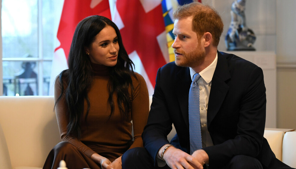 CANADA: Meghan og Harry besøkte Canada House i London dagen før kunngjøringen om tilbaketrekkelse kom. Foto: NTB Scanpix.