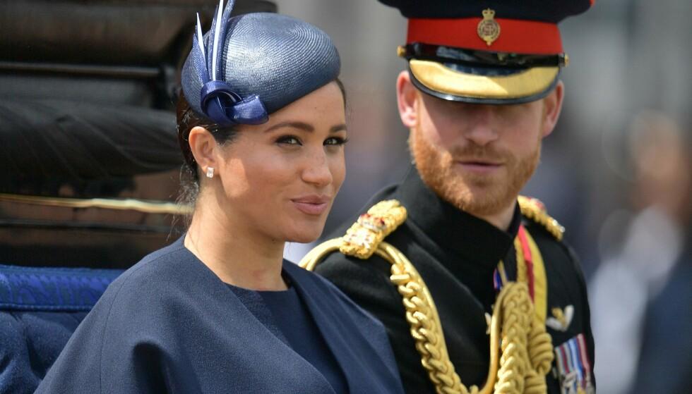 DELTOK IKKE: Det ble hevdet at hertuginne Meghan skulle delta via telefon under gårsdagens krisemøte. Dette ble ikke tilfelle, ifølge CNN. Foto: NTB Scanpix