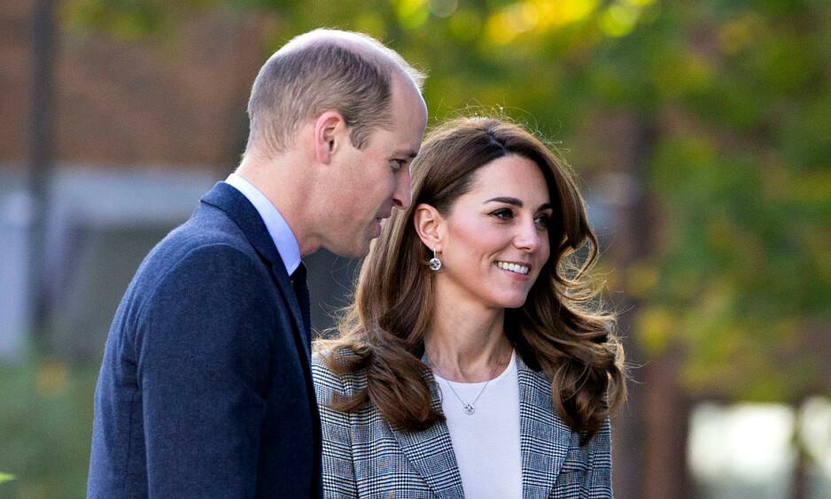 BEKYMRET: Prins William skal være bekymret over hertuginnens vekt og arbeidsmengde. Foto: NTB Scanpix