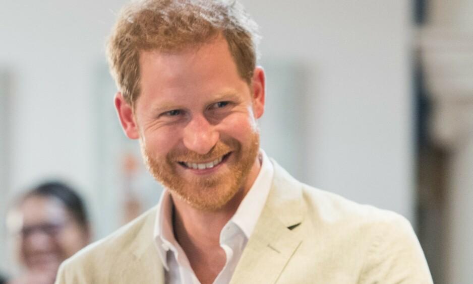 JOBBTILBUD: Prins Harry har fått flere tilbud fra Burger King, og de mener han vil passe jobben perfekt. Foto: Shutterstock/ NTB Scanpix
