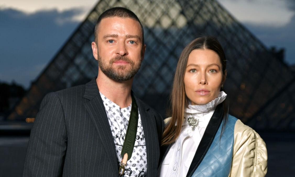 SÅRET: Jessica Biel og Justin Timberlake skal gå gjennom en tøff periode etter artisten ble fotografert sammen med skuespillerkollega. Foto: NTB Scanpix