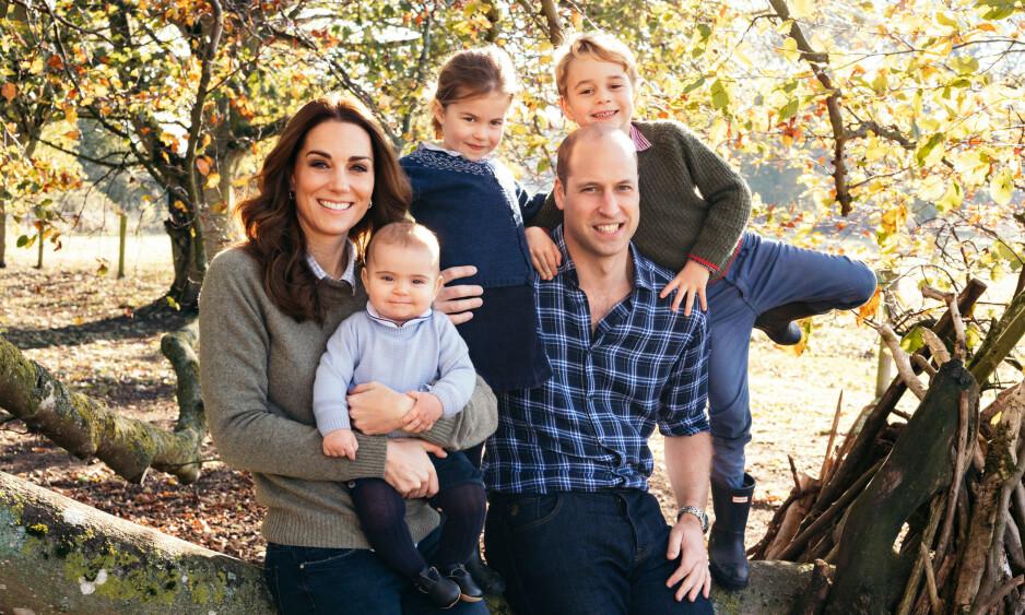 FIN GJENG: Hertugparet av Cambridge har hektiske liv. Jobben deres tar dem verden rundt, og hjemme har de tre små barn å ta vare på. Foto: Matt Porteous / Kensington Palace, NTB scanpix
