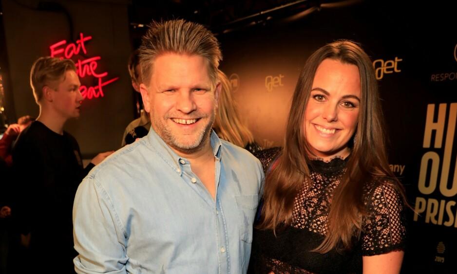 NOMINERT: Håvard Lilleheie og Randi Liodden kom sammen. Sistnevnte var nominert til pris for årets morsomste på internett. Foto: Tor Lindseth / Se og Hør