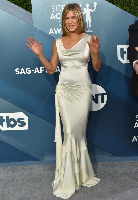 NOMINERT: Jennifer Aniston var blant de nominerte, og kunne ta med seg en pris hjem. Foto: NTB Scanpix