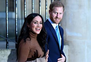 Raser mot bilder av Meghan og Archie