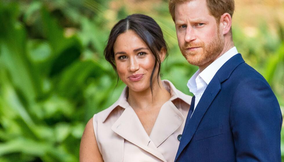 TRUER MED SØKSMÅL: Hertuginne Meghan og prins Harrys advokater med klar beskjed. Foto: NTB scanpix