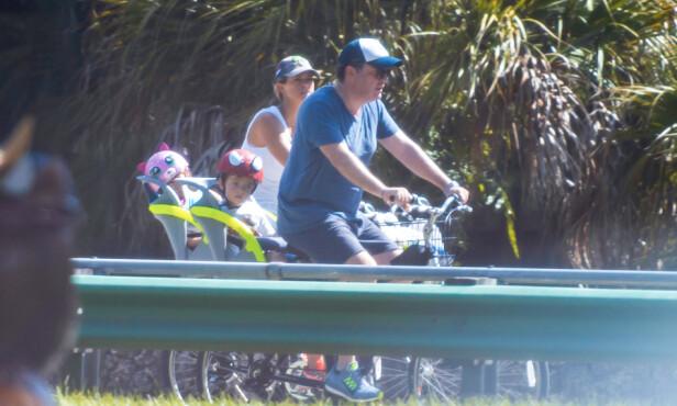 <strong>FLYTTER:</strong> Madeleine og Chris flytter igjen - men blir værende i Florida. Foto: NTB Scanpix