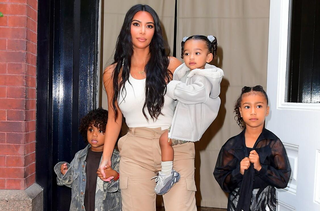 KRESEN: Kim og Kanye har vært kjent for å tenke grundig gjennom navnevalgene på barna sine. Foto: NTB Scanpix