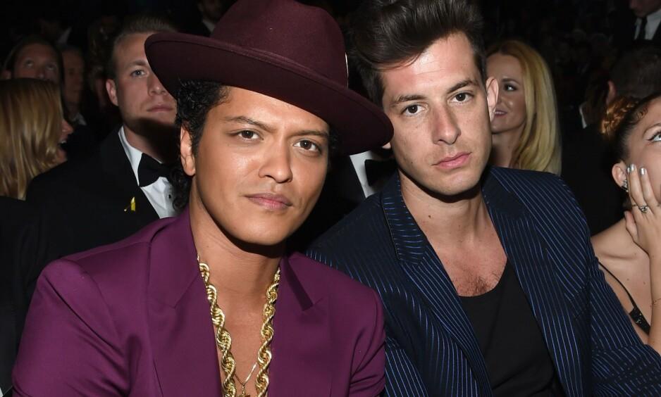 PROFILERT: Mark Ronson samarbeidet med Bruno Mars på hiten «Uptown Funk». Nå skal han ha funnet lykken med en tidligere Harry Potter-skuespiller. Foto: NTB scanpix