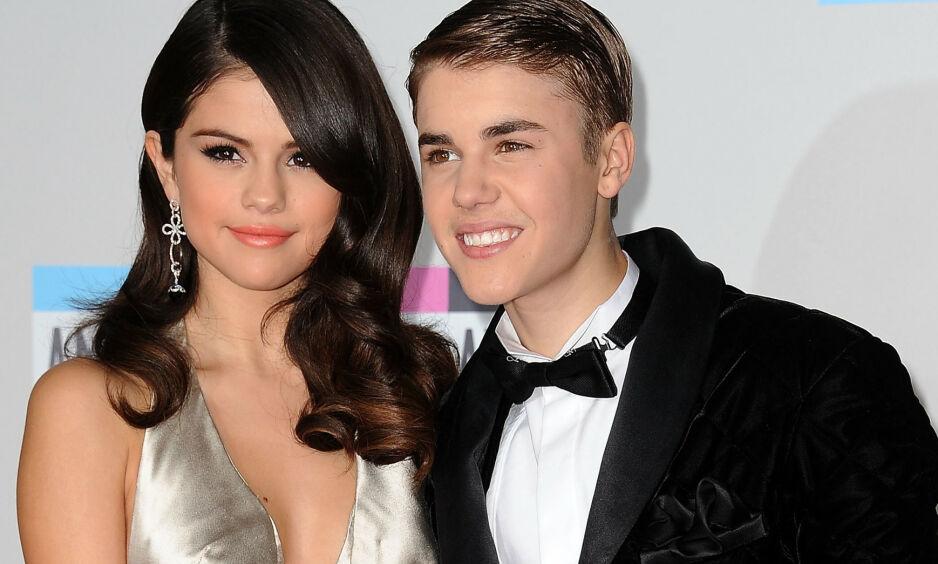 TURBULENT: Selena Gomez og Justin Bieber hadde et av-og-på-forhold i flere år før de avsluttet relasjonen for godt i 2018. Foto: NTB scanpix