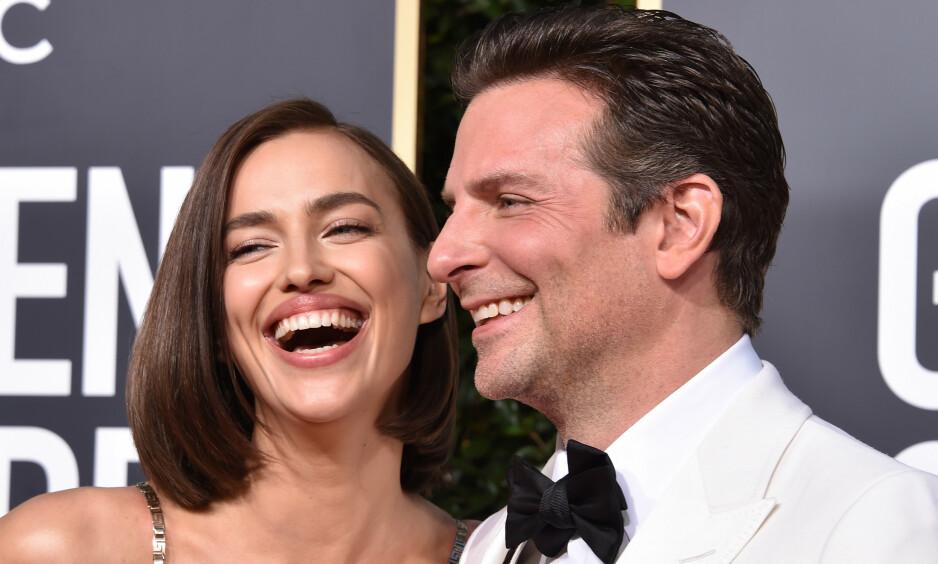 BRUDD: I sommer gikk Irina Shayk og Bradley Cooper fra hverandre. Nå bryter førstnevnte tausheten om bruddet. Foto: NTB Scanpix