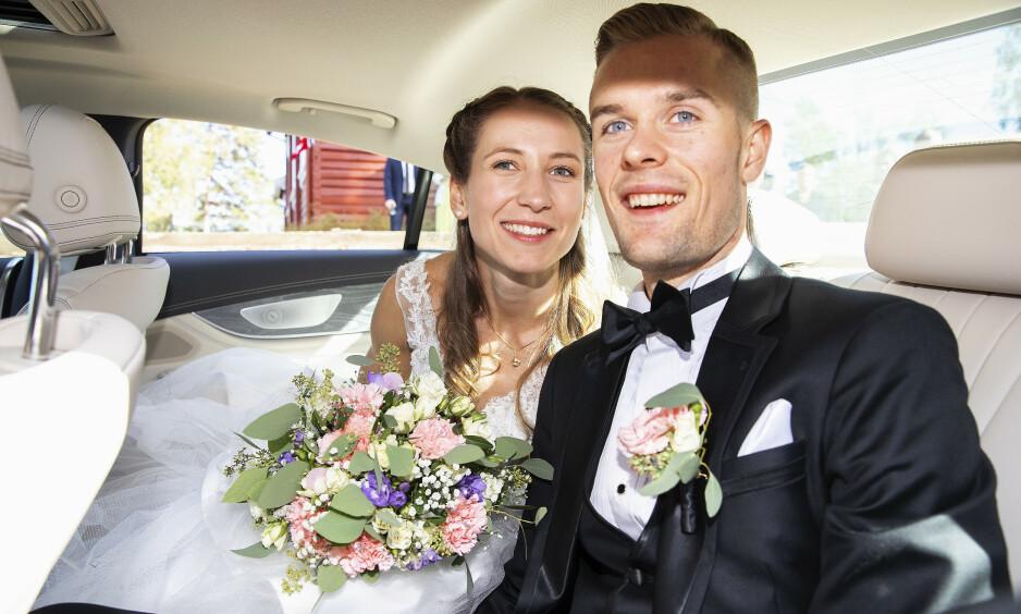 VENTER BARN: Filip Ingebrigtsen blir pappa for første gang i mars med kona Astrid Mangen Ingebrigtsen. Foto: Andreas Fadum/ Se og Hør