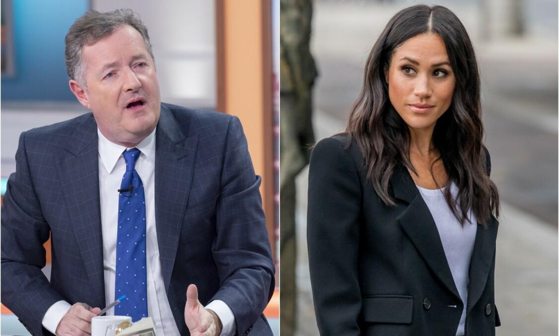 KRITISK: Tv-profil og journalist Prins Morgan (54) er ikke nådig i sin kritikk mot hertuginne Meghan (38). Nå gjør han det igjen. Foto: NTB Scanpix