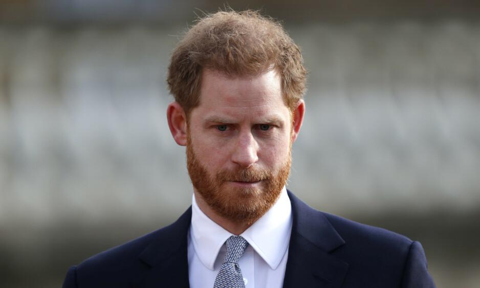 AVVISTE KLAGEN: Prins Harry tapte kampen mot britiske The Mail on Sunday etter at Independent Press Standards Organisation avviste klagen hans mot avisen. Foto: NTB Scanpix