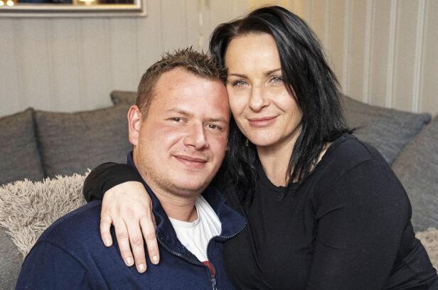 FORLOVET: - Du må bli frisk så vi får tid til å gifte oss, sier samboer Morten til sin May Kristin. Foto: Espen Solli/ Se og Hør