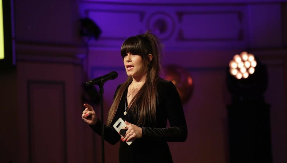 <strong>SVARER PÅ KRITIKKEN:</strong> Både under talen og i etterkant av prisutdelingen under Vixen Awards raste toppblogger Kristin Gjelsvik mot TV 2. Nå svarer nyhetskanalen på kritikken. Foto: NTB Scanpix