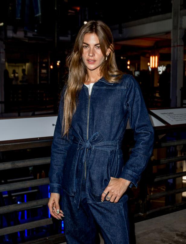 MODELL: Clara Berry er en fransk modell for en rekke modellbyrå, og har jobbet med Tommy Hilfiger, Viktor and Rolf og Diesel. Foto: NTB Scanpix