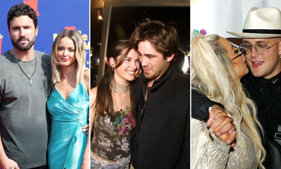 UGYLDIG: Flere Hollywood-stjerner har til felles at de har giftet seg, men ikke signert en gyldig ekteskapskontrakt. Foto: NTB Scanpix