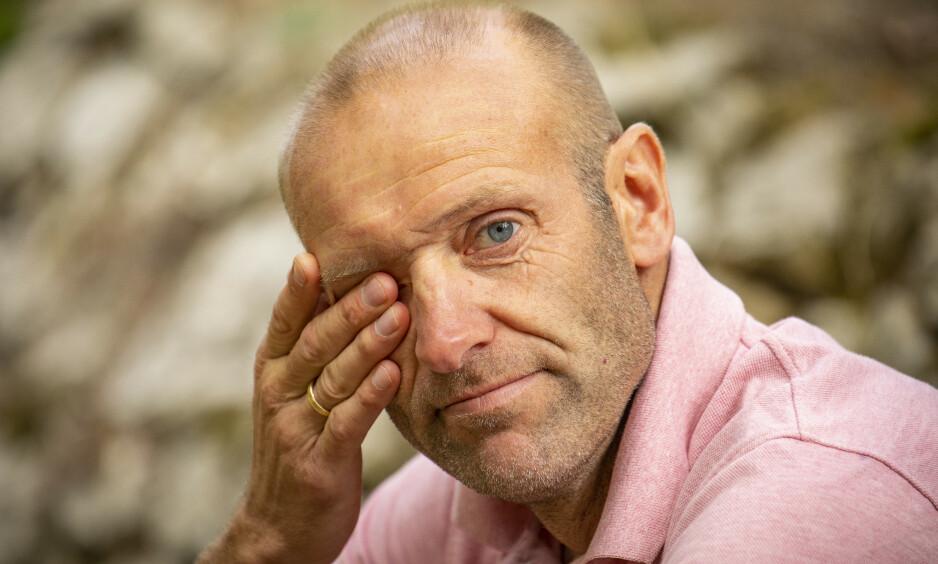 UHELDIG: Odd-Bjørn Hjelmeset (48) dro rett fra «Mesternes mester»-innspilling til sykehus. Nå forklarer han hva som skjedde. Foto: Tor Lindseth
