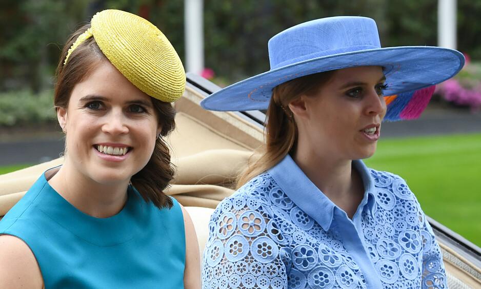 STEPPER INN: Prinsesse Eugenie og prinsesse Beatrice, prins Andrews døtre, får flere kongelige plikter. Foto: NTB Scanpix