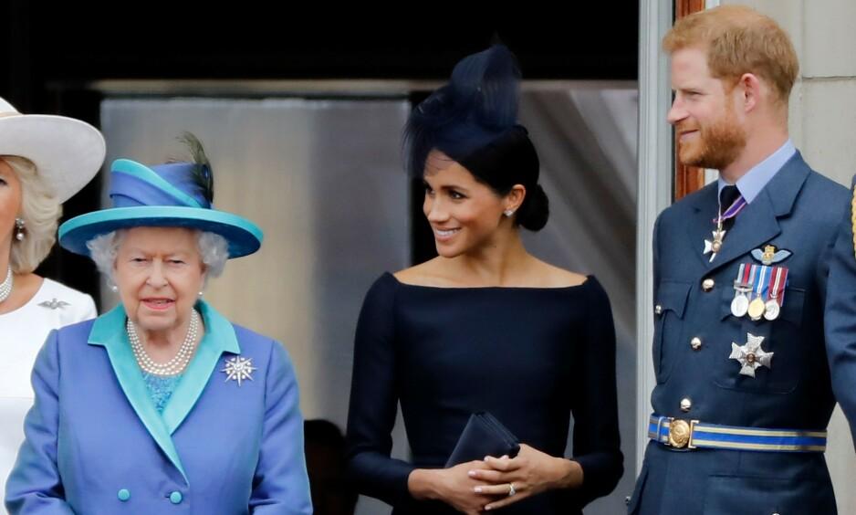 HAR REIST: Hertugparet har den siste tiden oppholdt seg i Canada. Nå skal dronning Elizabeth ha bedt dem om å komme tilbake til Storbritannia i mars. Foto: NTB Scanpix