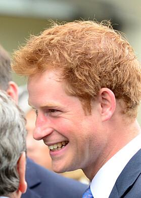 2011: Her er prins Harry avbildet i 2011 og man kan tydelig se at håret var tykkere den gang. Foto: NTB Scanpix