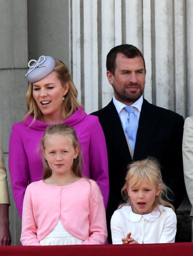 TO BARN: Autumn og Peter Phillips fikk to barn i løpet av ekteskapet - Savannah og Isla. Nå har paret gått fra hverandre. Foto: NTB scanpix