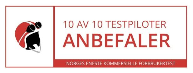 Testpilot: 10 av 10 anbefaler Roedekassen fra Godtlevert