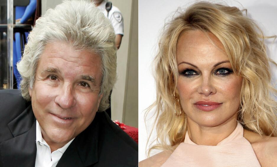 BRUDD: Jon Peters kommer med krasse anklager i retning Pamela Anderson etter at de gikk hver til sitt. Foto: NTB Scanpix