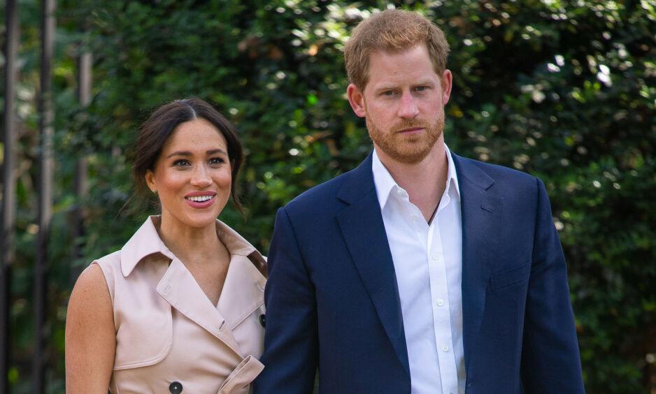 MINDRE OMGANGSKRETS: Det skal være vanskelig for hertuginne Meghan og prins Harry å vite hvem de kan stole på. Foto: NTB Scanpix