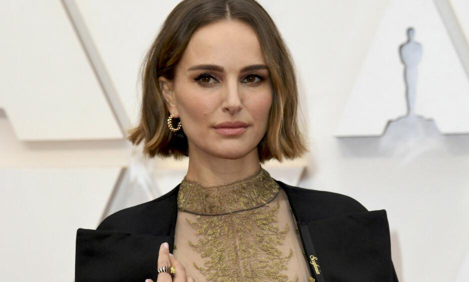 <strong>SLAKTES:</strong> Natalie Portman får knallhard kritikk fra skuespillerkollega for antrekket hun dukket opp i på Oscar-utdelingen. Foto: NTB scanpix