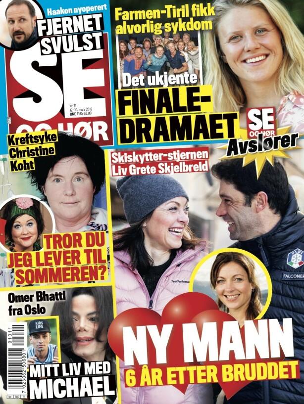 I FJOR: Allerede i mars i fjor publiserte Se og Hør bilder av paret. Faksimile: Se og Hør