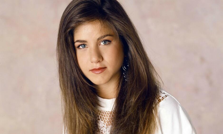 ÆRLIG: I et nytt intervju forteller Jennifer Aniston hvordan opplevelsene fra barndommen fikk henne til å bli et mer positivt menneske som voksen. Her avbildet i 1990. Foto: Paramount Television/ NTB scanpix