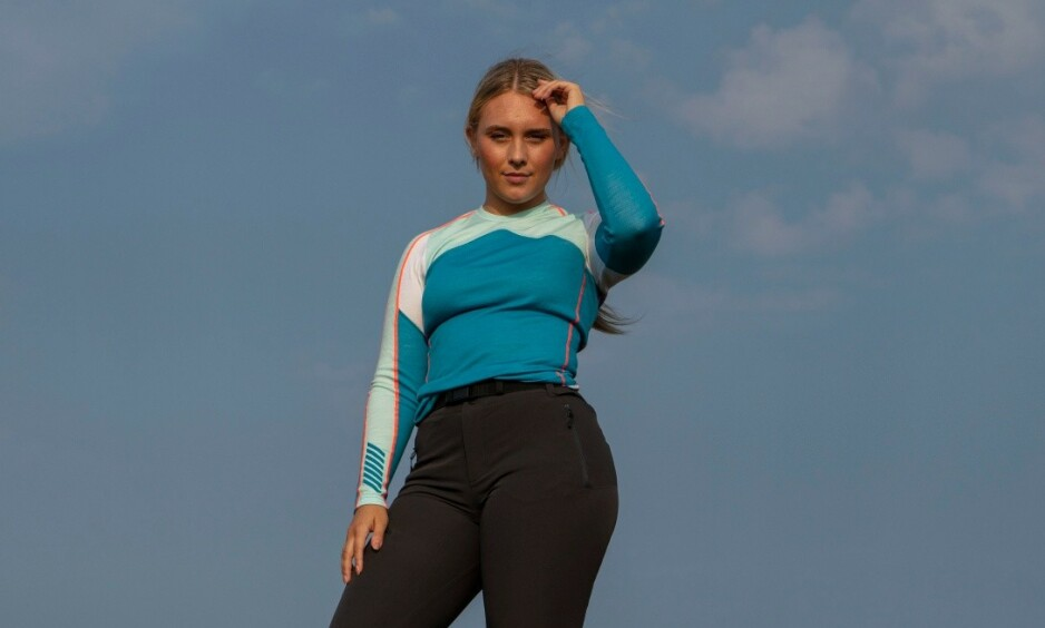 ÆRLIG: Influenser og tv-profil Maren Turmo (20) forteller til Dagbladet at hun på et tidspunkt slet med spisevegring, og at hun som 12-åring gikk ned 20 kilo. Veien tilbake var nokså overraskende. Foto: Discovery