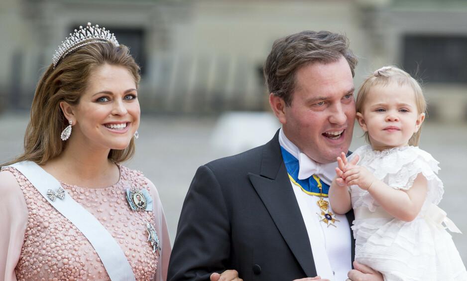 SEKS ÅR: Prinsesse Leonore fyller seks år i dag, og mamma prinsesse Madeleine benytter muligheten til å dele et nytt bilde av prinsessen. Foto: NTB scanpix