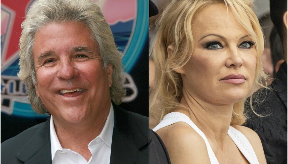 TILBAKE TIL EKSEN: Jon Peters og Pamela Anderson endte ekteskapet sitt etter bare tolv dager. Nå har han gått tilbake til eksforloveden. Foto: NTB scanpix