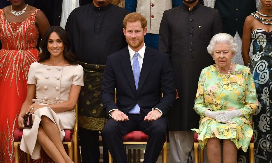 BRÅTT: Hertugparet av Sussex hadde egentlig planer om å videreføre merkevaren «Sussex Royal». Det skjer ikke nå, angivelig på grunn av press fra dronning Elizabeth. Foto: NTB scanpix