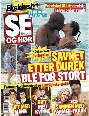 AVSLØRER: En større sak om «Farmen»-duoens sjokkromanse finnes i tirsdagens av Se og Hør.